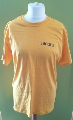 £8 • Buy Men's Jungle Band T Shirt - Large - Yellow - Preowned - Music, Funk, Soul