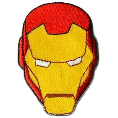 £5.49 • Buy Iron On Patches - Avengers  Iron Man 2  - Yellow - 6,4 X 4,5 Cm - Application