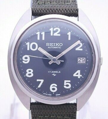 $ CDN1.20 • Buy Vintage Seiko 7005-8030 MAC-V-SOG Vietnam Japan Automatic Military Men's Watch