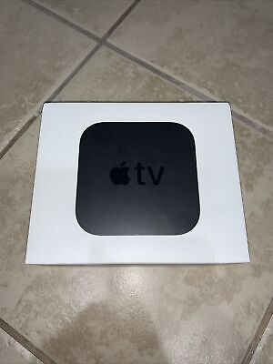 AU140.31 • Buy Apple TV (4th Generation) 32GB HD Media Streamer - Black (MR912LL/A)