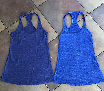 $ CDN22.97 • Buy 2 Lululemon  Lavender Purple  Racer Back Tank Top Shirt Sz 4 Small