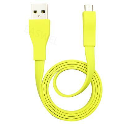 AU8.42 • Buy 2ft Micro USB Cable For Logitech UE BOOM Bluetooth Speaker Charger Yellow
