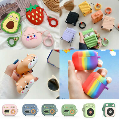 AU2.99 • Buy Cute 3D Cartoon AirPods Silicone Case Protective Cover For Apple AirPods 1 2 Pro