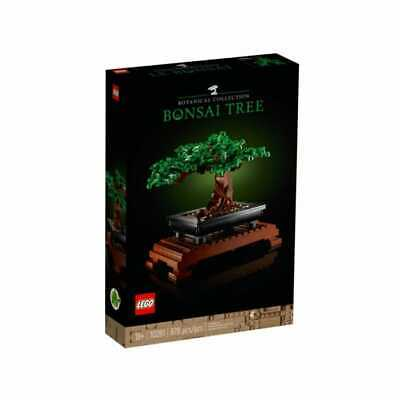 £44.99 • Buy LEGO 10281 Creator Expert Bonsai Tree Set For Adults, Home Décor DIY Projects