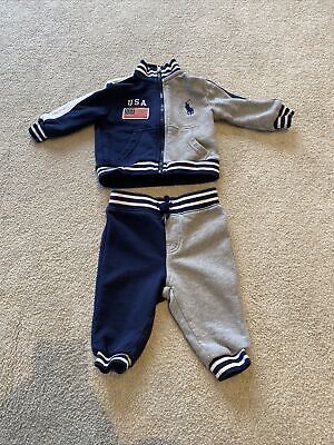 £20 • Buy Ralph Lauren Boys Tracksuit (6 Months) Excellent Condition.
