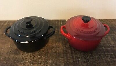 £14.50 • Buy Le Creuset 2 Small Casserole Dishes Excellent Condition