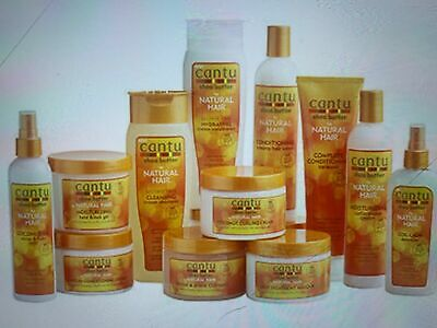 £8.99 • Buy CANTU SHEA BUTTER & NATURAL AFRO HAIR CARE HAIR PRODUCT Full Range + Free P&P