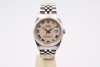 $ CDN7926.29 • Buy Rolex Datejust 36 16200 Box And Papers 1993