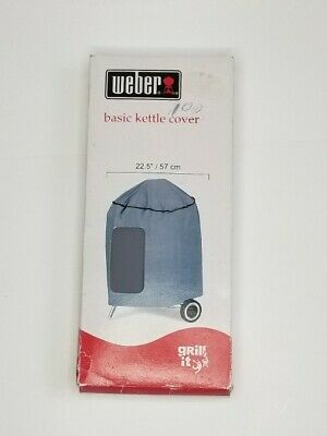 $ CDN18.20 • Buy Weber Charcoal Kettle Grill Cover All Weather Fabric Storage Outdoor - 22.5 Inch