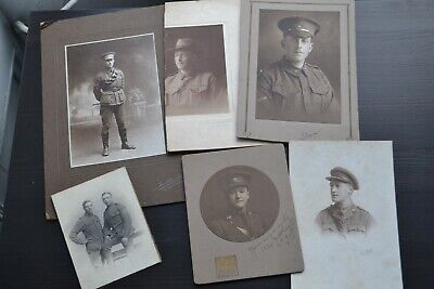 £4.99 • Buy Military - Early 1900s Collection Of Cabinet Cards And Photos - Interesting Lot