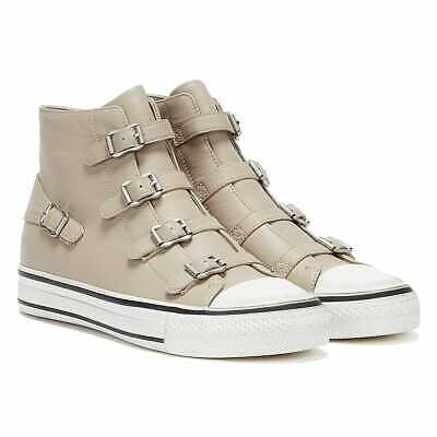 £120 • Buy Ash Virgin Leather Womens Pearl Taupe Trainers