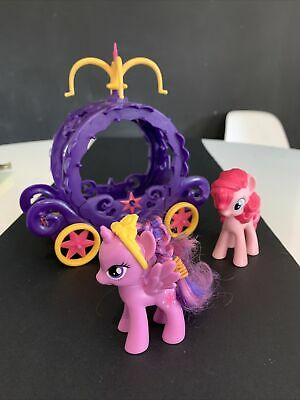 My Little Pony Carriage 2014 And 2 Pony's, Water Pony Hasbro • 4.50£