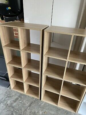 AU20 • Buy 8 Cube Storage In Natural Timber Look X2