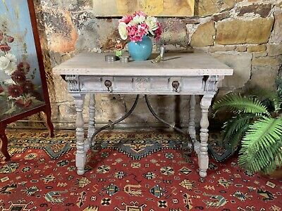 AU9.99 • Buy Vintage French Provincial Side,Hall Table~Hamptons~Cast Iron Base~Sideboard
