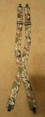 £11.88 • Buy Realtree Advantage Timber Camo Adjustable SUSPENDERS 2  Elastic Clip-On