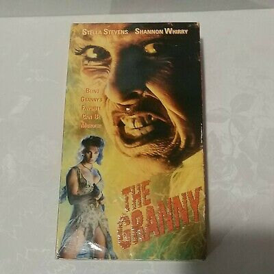 $ CDN94.35 • Buy The Granny-VHS Only-1994-Horror/Gore/Cult-OOP-Stella Stevens/Shannon Whirry