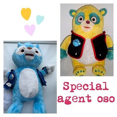 £4.40 • Buy Disney Store Exclusive Giant Special Agent Oso Plush Toy & Wolfie