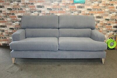 £899 • Buy Parker Knoll Hoxton Large 2 Seater Sofa In Grey Fabric