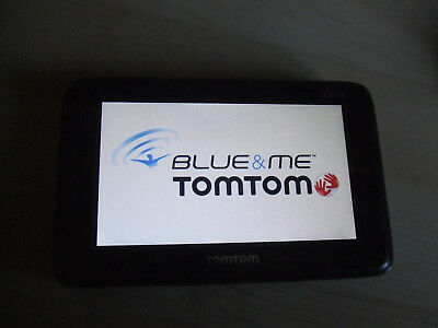 £35 • Buy FAULTY SCREEN DOESN'T RESPOND TomTom Blue & And Me Sat Nav Unit ONLY 4MFo.001.04