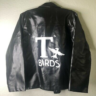 £28.83 • Buy Men's Grease T-Birds 2017 Paramount Pictures 1950s Faux Leather Jacket Size L