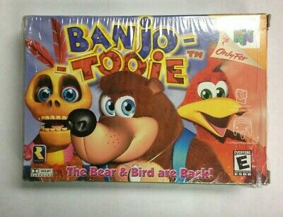£90.64 • Buy Banjo-Tooie (Nintendo 64, 2000) Box Tested And Working