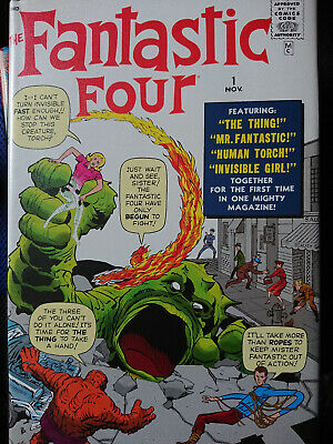 £190 • Buy Fantastic Four Omnibus Volumes 1 And 2 Marvel Kirby Lee