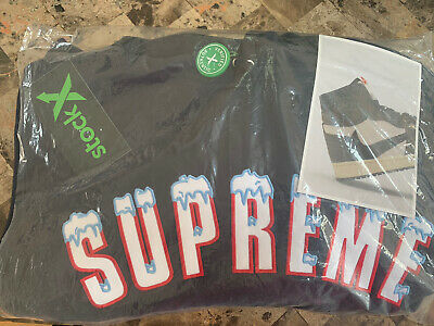$ CDN303.29 • Buy RARE Supreme Icy Arc Hoodie FW20 | Size MEDIUM  | BRAND NEW WITH TAGS AUTHENTIC