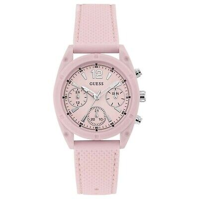 $ CDN66.71 • Buy Guess Quartz Pink Dial Ladies Watch W1296L4