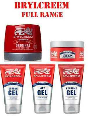 £7.69 • Buy Brylcreem Styling Strong Wet Extreme Gel Wax Styling Cream For Men