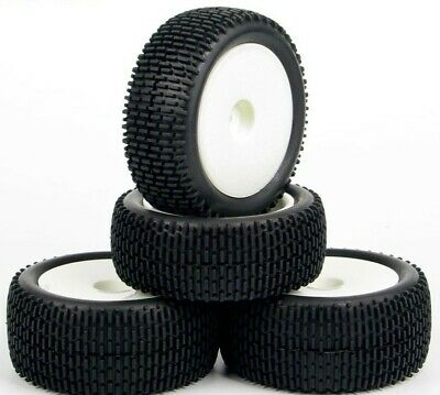 £24.99 • Buy 1/10 Scale Rc Buggy Wheels And Tyres Foam Inserts 12mm Hex