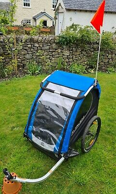 £299 • Buy Burley Encore 1 Or 2 Seater Bicycle Cycling Kids Trailer