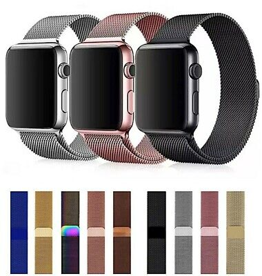 $ CDN8.47 • Buy Milanese Loop Apple Watch Band For IWatch Series 6 5 4 3 2 38mm/40mm 42mm/44mm