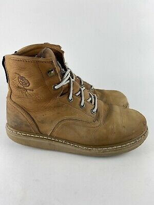 $ CDN30.33 • Buy Georgia Mens 6  Wedge 8.5 W (wide) Lace Up Soft Toe Work Boots G6152