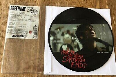 £34.23 • Buy GREEN DAY - Wake Me Up When September Ends 7  LIMITED PICTURE VINYL