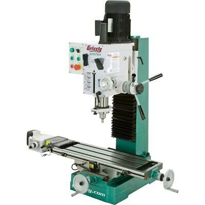 $3680 • Buy Grizzly G0761 10  X 32  2 HP HD Benchtop Mill/Drill With Power Feed And Tapping
