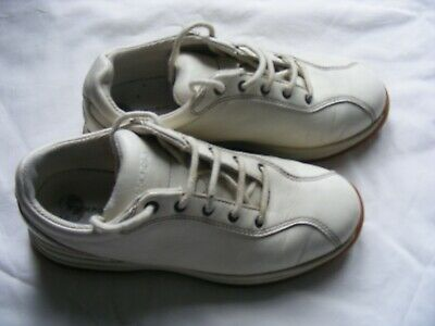 £7 • Buy Rockport Off-White Leather 4.5 Trainers - Comfortable - Very Good Condition