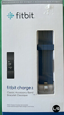 $ CDN3.63 • Buy Fitbit Charge 2 Classic Accessory Band - Large - Blue