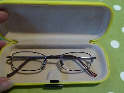 £7 • Buy Glasses & Case Childrens. Brand Zinga  Prescribed Lens Can Be Removed.