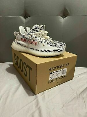 $ CDN477.26 • Buy Adidas Yeezy Boost 350 V2 Zebra (White Black Red) - Size 7.5 UK | 8 US - NEW