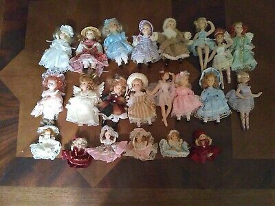 $ CDN24.19 • Buy Mini Porcelain Doll Lot