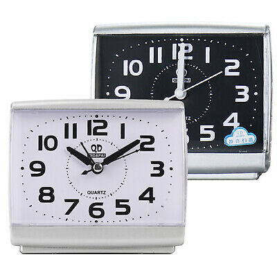AU14.79 • Buy Classic Small Night Glow Alarm Clock Quartz Large Number Bed Bedside Home Clocks