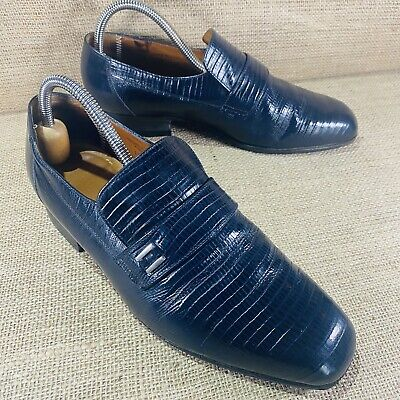 £24.99 • Buy Mens Sanders Leather Shoes Size 8 Slip On Made In England See Pictures