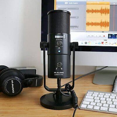 $122.68 • Buy M-Audio Uber Mic   Professional USB Microphone With Switchable Polar Patterns.