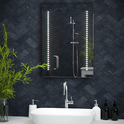 £127.32 • Buy Pebble Grey™ Tannon Illuminated LED Bathroom Mirror With Concealed Heated Mirror