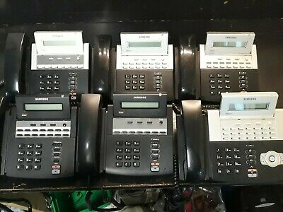 £65 • Buy Samsung OfficeServ 7030 Phone System With 6x Phones SIP Trunks