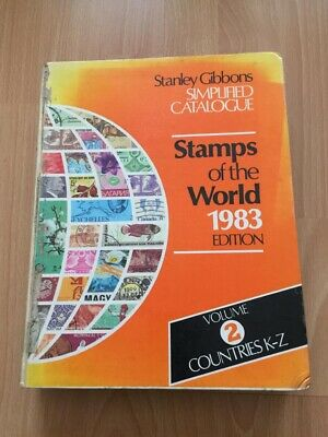 £19.99 • Buy Stanley Gibbons Stamps Of The World 1983 Edition, Vol 2, Countries K-Z