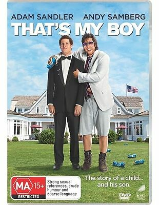 AU9.99 • Buy That's My Boy : Adam Sandler : NEW DVD