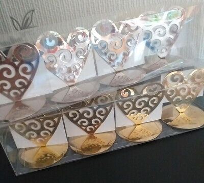 £1.50 • Buy Place Name Card Holders / Table Numbers Set Of 4