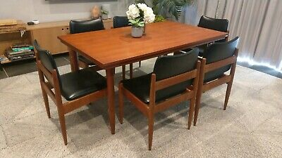 AU1200 • Buy Mid Century Chiswell 7 Piece Dining Setting.