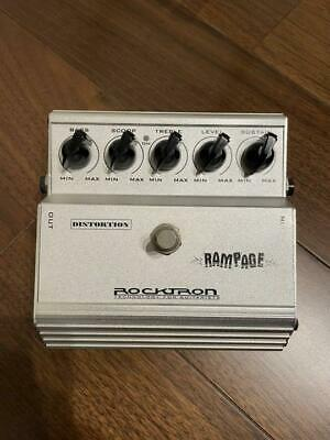 $ CDN114.93 • Buy Rocktron Rampage Distortion Guitar Effect Pedal USED Free Shipping!!